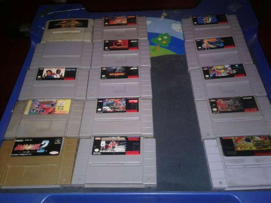 Juegos Super Nintendo Originales