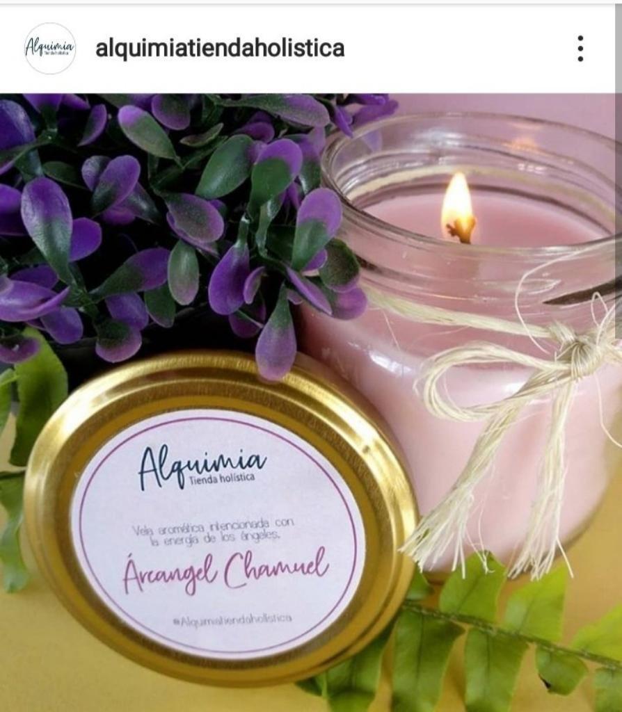 Vela Aromatica Arcangel Chamuel