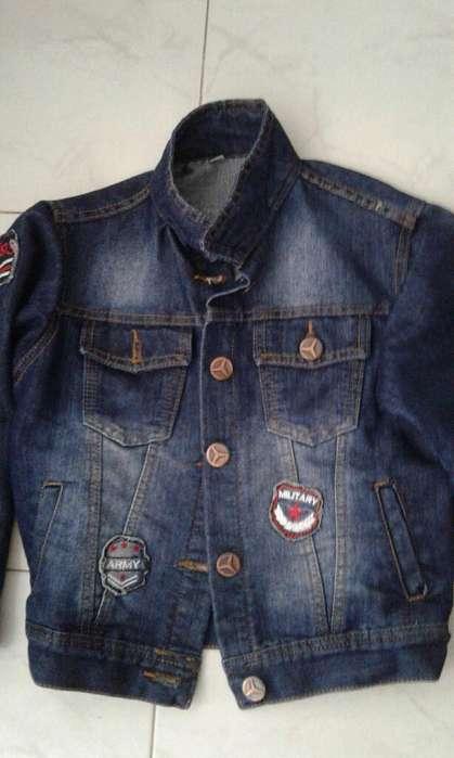 Chaqueta Jeans Casi Nuevo 3046786996t4