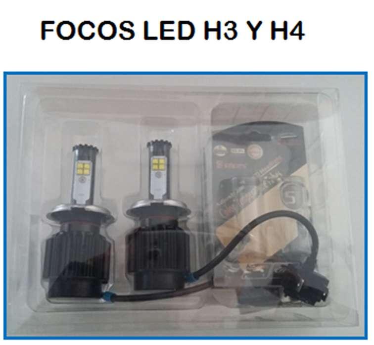 FOCOS LED H3 Y H4
