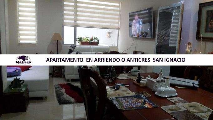149 APARTAMENTO EN ARRIENDO O ANTICRES SAN IGNACIO
