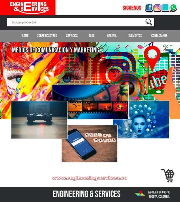 Paginas Web Tiendas Empresas Negocios