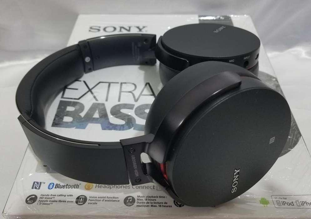 Audifonos Sony Mdr Xb950b1 Inalambricos Originales Nuevos