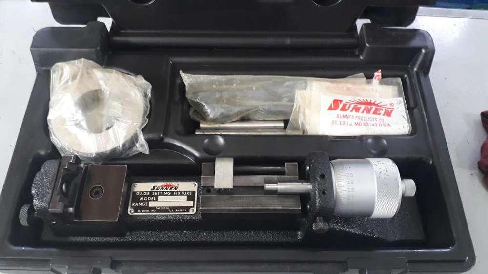 Calibrador de diametro marca Sunnen