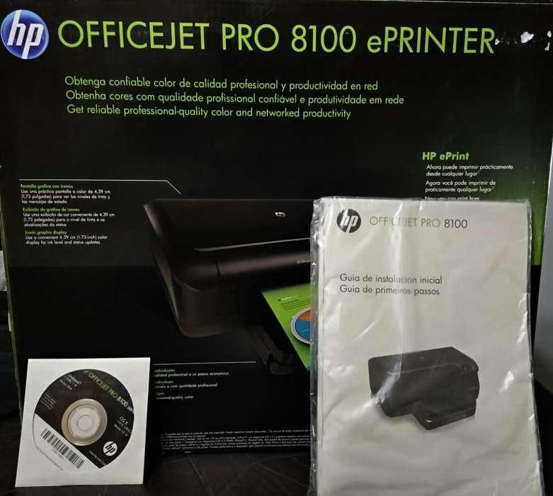 Impresora HP OFFICEJET PRO 8100 ePRINTER (Nueva sin uso)