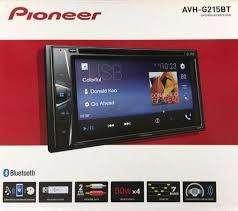 Radio Pioneer Avh-g215bt 2 Din CD Pantalla Táctil Wvga Bluetooth Nuevos Originales Garantìa Sc1