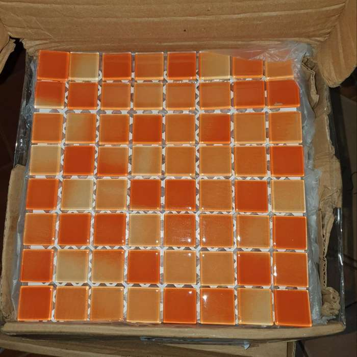 Malla de Vidrio Frape Naranja