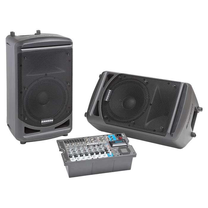 Sistema Samson XP1000B audio consola cabinas
