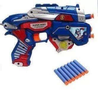 Pistola Dardos Capitan America Juguete Niño