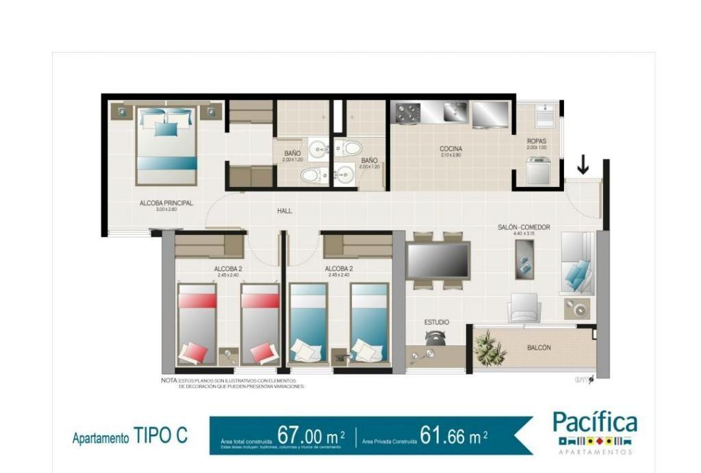 458276LP Venta Apartamento Ditaires Itagui - wasi_516263