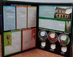 Álbum de colección de monedas completa