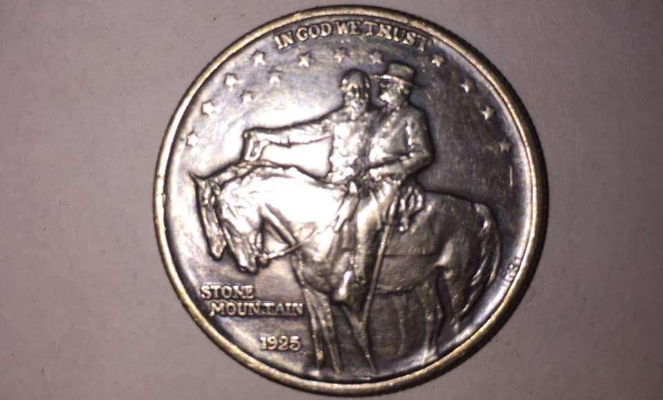 EN.VENTA...PRECIOSA..MONEDA...DE.USA...COMMEMORATIVA.DE.1925,,,PLATA.....