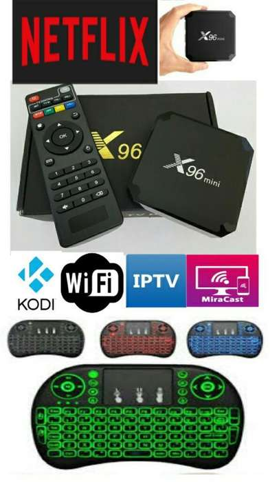 Tv Box X96 4k Mini Teclado Inalámbrico