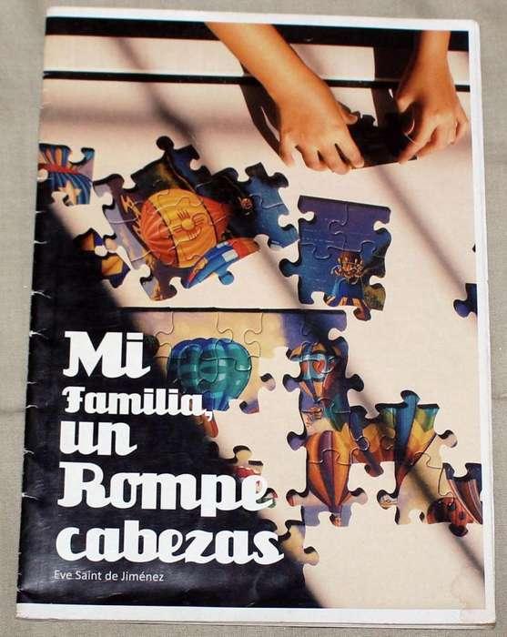 Libro Mi familia, un rompecabezas Familias Ensambladas