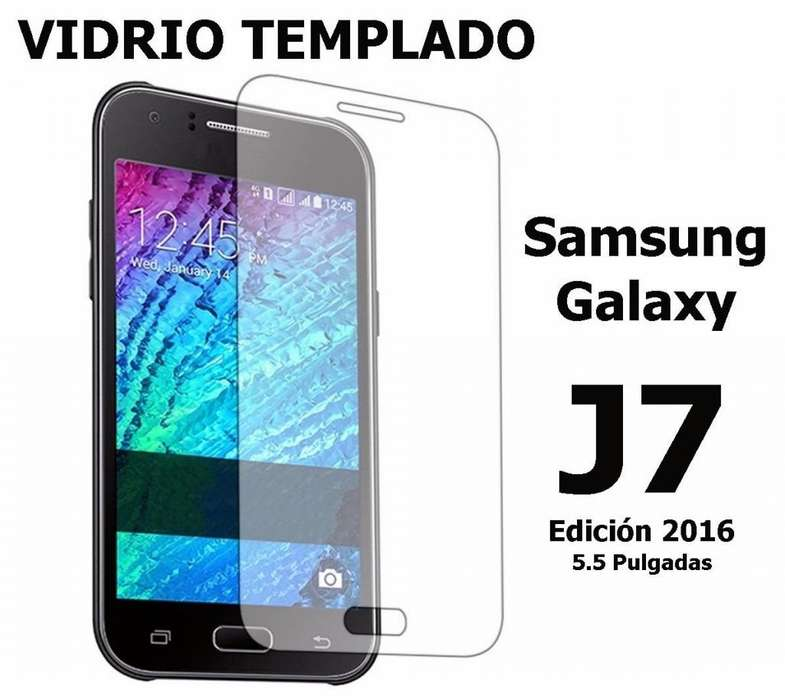 Vidrio Templado Samsung J7 Edición 2016 5.5 Pulgadas Rosario