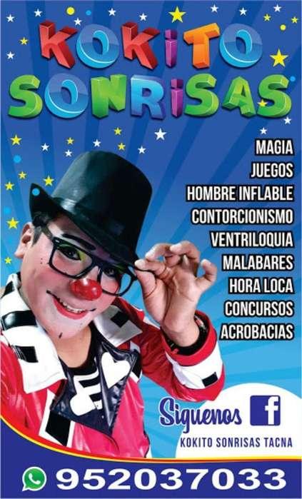 Payaso Kokito Show Tacna