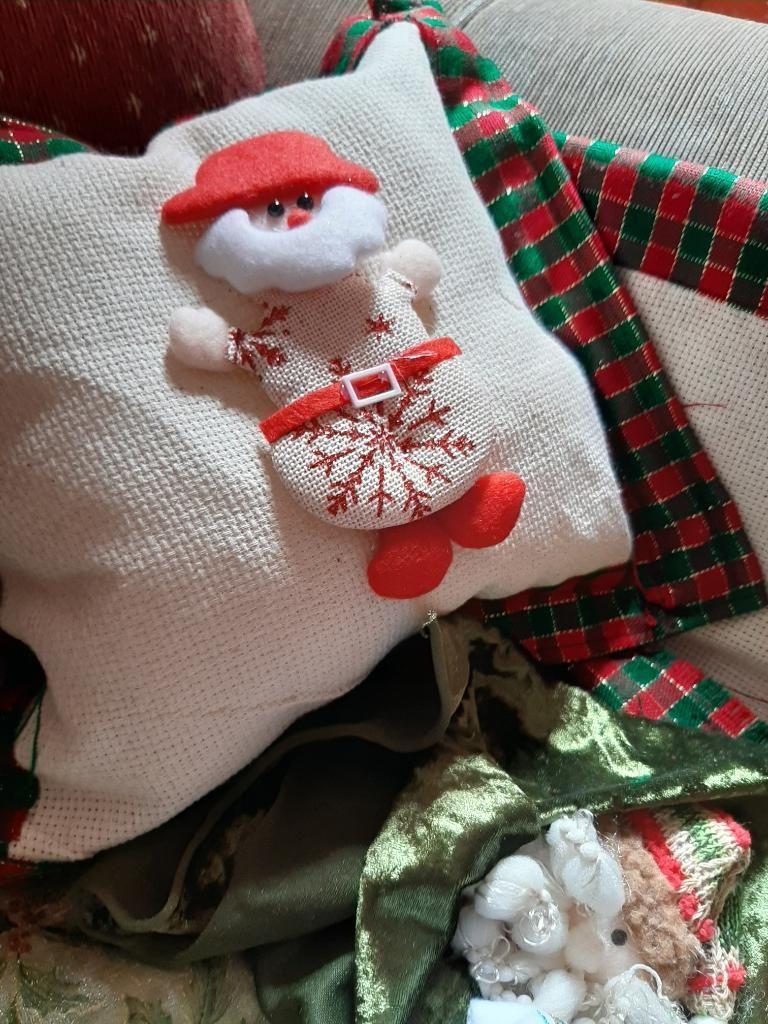 Cojines Navidad Manualidades.Cojines Navidenos Lima