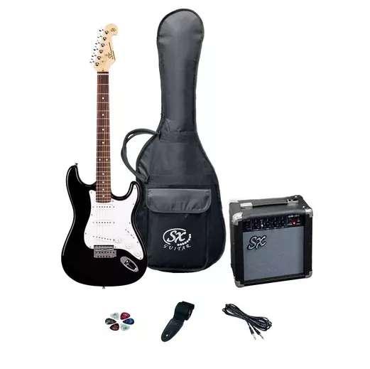 Combo Guitarra Electrica sx con amplificador Como Nueva
