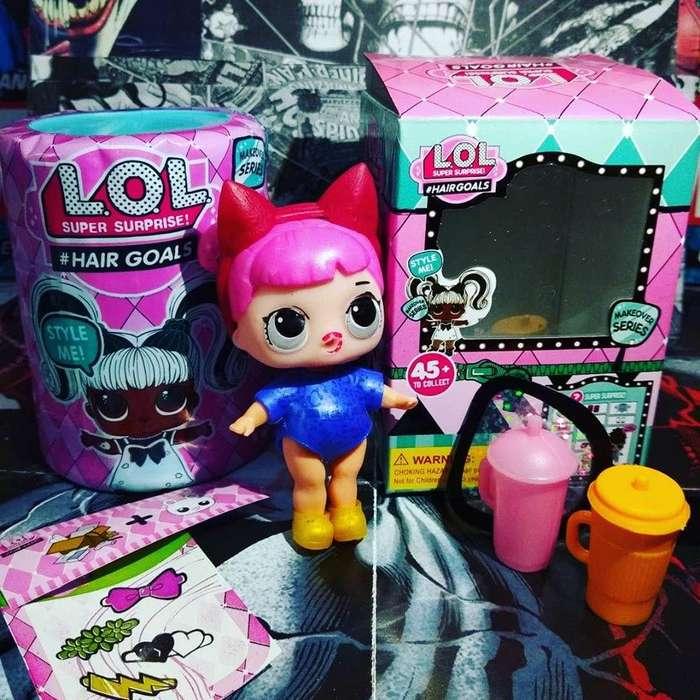Muñequita lol con accesorios en caja Nuevo
