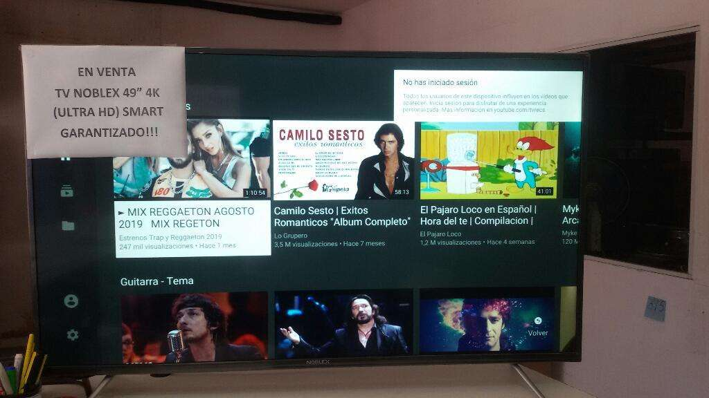 Tv Noblex 49 4 K (ultra Hd)