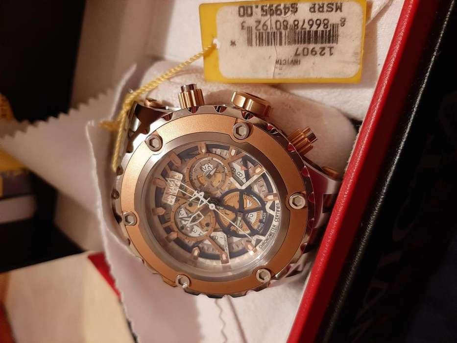 Invicta Reserve 12907 toda una joya Oro rosa