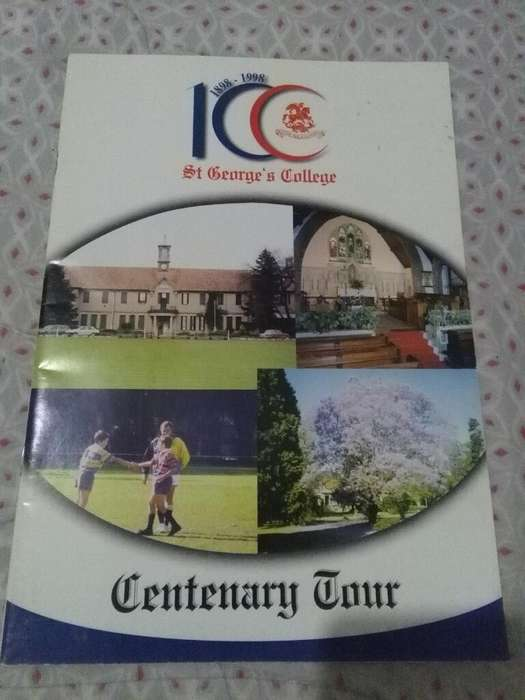 Revista St George College Centenary Tour 1998 gira a Inglaterra Rugby hockey