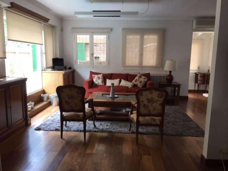 Casa en alquiler con muebles en Martínez - Disponible Abril 2019