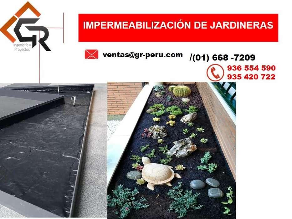 GEOMEMBRANA HDPE Y PVC, IMPERMEABILIZACIÓN DE TECHO, JARDINERAS VISITA TECNICA A OBRA 936 554 590