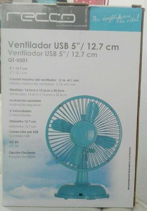 Ventilador Usb 12cm Completamente Nuevo