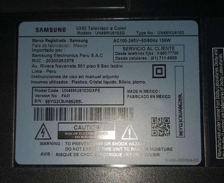 Samsung Smart Tv 49 con Detalle