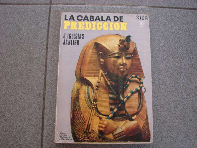 La Cabala De Predicción J. Iglesias Janeiro Kier 8a Ed buen libro Usado