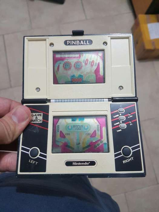 Game And Watch Pinball