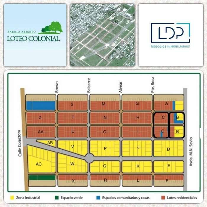 Loteo Colonial San Nicolas - Financiación o Descuento por Contado