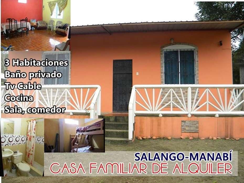 Casa Alquiler Salango