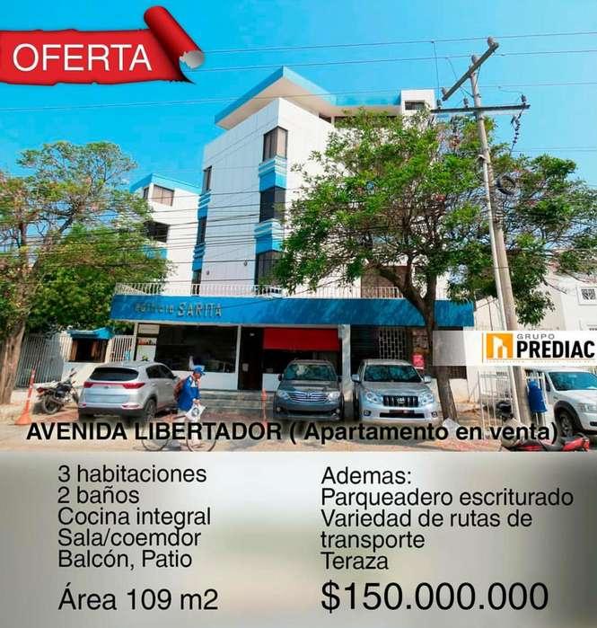 PREDIAC TIENE PARA TI <strong>apartamento</strong> EN LA AV. LIBERTADOR – SANTA MARTA