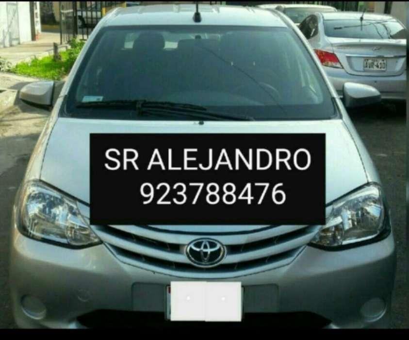 Alquiler de Auto para Aplicativo Taxi