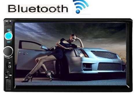 Radio para carro pantalla táctil de 7 pulgadas bluetooth usb mirrolink 2 din nuevo