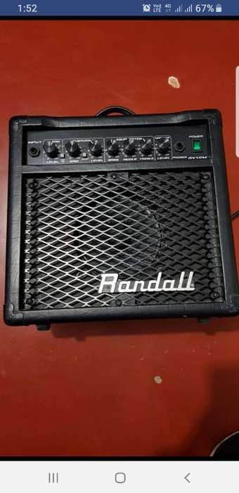 Amplificador para Guitarra Electrica