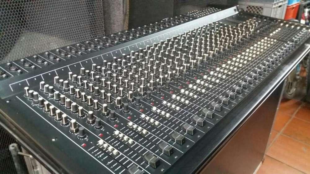 Combo Consolas Profesionales de Sonido