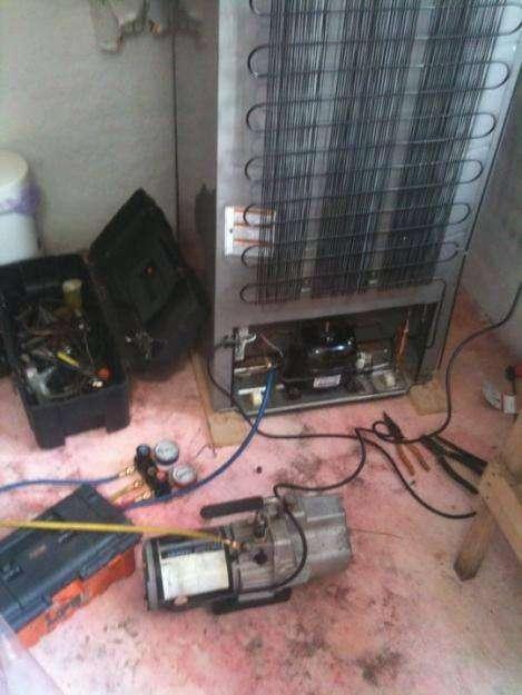 reparacion de refrigeradoras, reparacion de congeladoras