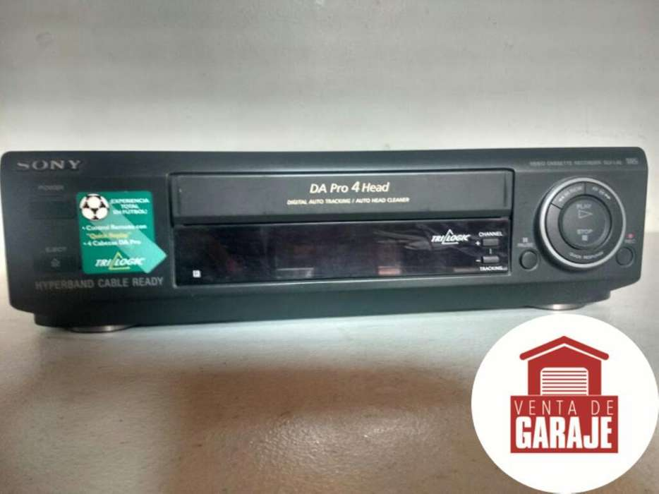 Reproductor de Vhs Sony Perfecto Estado
