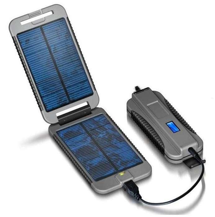 Powermonkey Extreme Cargador Solar Powerbank 9000mah Gris
