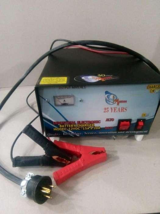 cargadores de batería de 12 y 24v, de 3, 5, 10, 15, 20 amperios- automático o tipo taller
