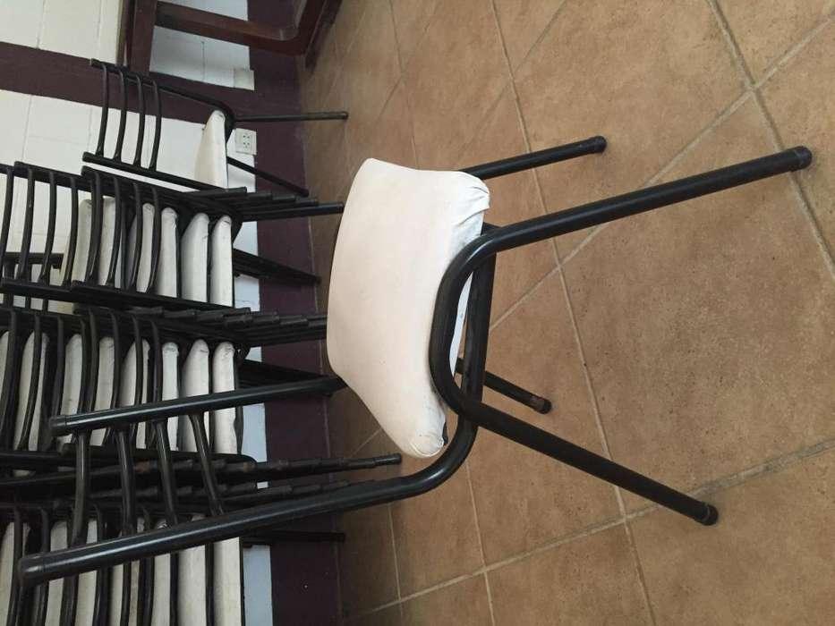 <strong>silla</strong>S DE CAÑO TAPIZADAS EN ECO CUERO NUEVAS