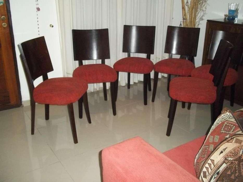 6 sillas de guatambu !!! Escucho ofertas !! Flete gratis !!