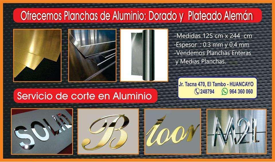 VENTA DE ALUMINIO Y SERVICIO DE CORTE CNC ROUTER HUANCAYO