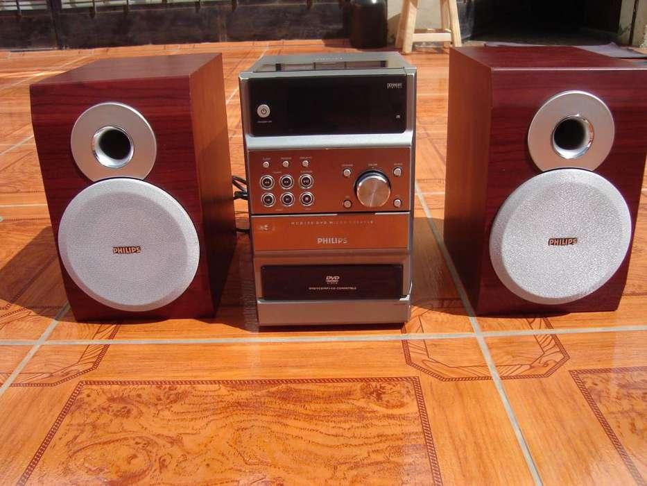 pparlantes sistema de audio philips