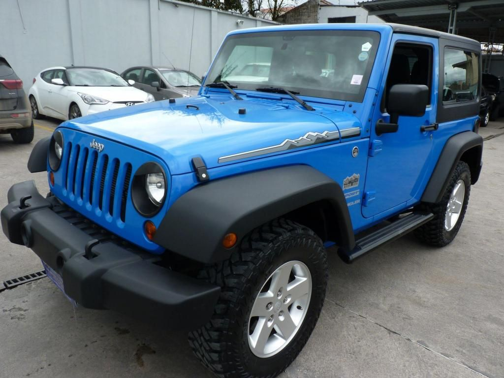 venta jeep wrangler 2012 azul