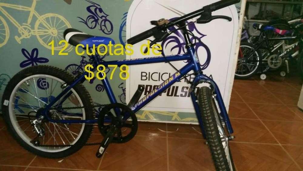 BICICLETA R20 3VEL