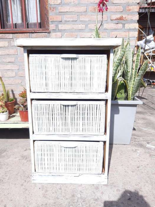 Vendo Mueble Color Blanco